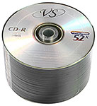 Диски CD-R 700Mb 52x VS, в спайке 50 шт.