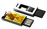 Накопитель USB Flash 8Gb Silicon Power Touch 850 Amber
