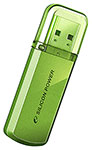 Накопитель USB Flash 32Gb Silicon Power Helios 101 Green