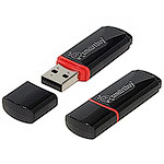 Накопитель USB Flash 32Gb SmartBuy Crown Black