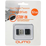 Накопитель USB Flash 32Gb QUMO Nano Black