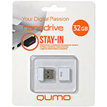 Накопитель USB Flash 32Gb QUMO Nano White