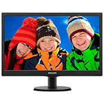 "Монитор 19.5"" Philips 203V5LSB26/10(62), LED, 1600x768, 5ms, 200cd/m2, 10M:1"