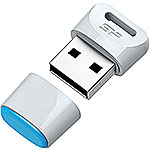 Накопитель USB Flash 32Gb Silicon Power Touch T06 White
