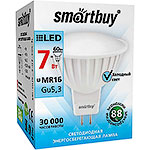 Лампа LED Smartbuy GU5.3/MR16, 7W, 4000K, 500Лм [SBL-GU5_3-07-40K-N]