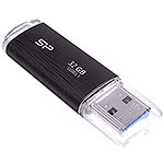 Накопитель USB Flash 32Gb Silicon Power Blaze B02, Black, USB3.0