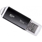 Накопитель USB Flash 32Gb Silicon Power Ultima U02 Black