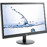 "Монитор 23.6"" AOC M2470SWH Silver-Black, MVA, LED, 1920x1080, 5ms, 250 cd/m, 50M:1, +2xHDMI"