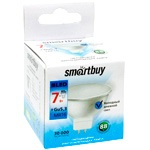 Лампа LED Smartbuy GU5.3/MR16, 7W, 6000K, 600Лм [SBL-GU5_3-07-60K-N]