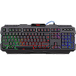 Клавиатура DEFENDER Legion GK-010DL RU, RGB подсветка,19 Anti-Ghost, USB