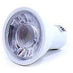 Лампа LED LC GU5.3/MR16,  7W/220V, 6000K, COB с линзой